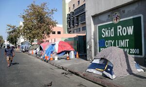 جولان بیخانمان ها در لسآنجلس