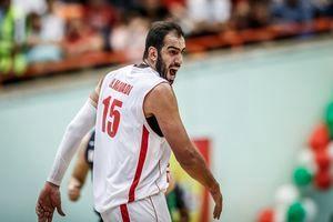 ستاره بسکتبال ایران به دلیل رفتار غیر ورزشی جریمه شد