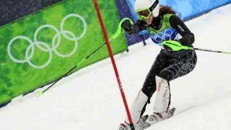 جنجال بر سر عکس اسکی باز زن لبنانی
