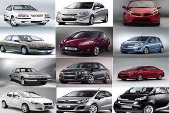 قیمت روز خودروهای داخلی در 17 دی ماه