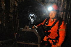 نجات دو معدنچی پس از ۱۰ روز