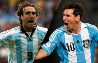 اظهارنظر جالب باتیستوتا ستاره سابق آرژانتین درباره مسی