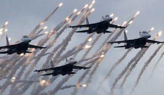 حمله جنگندههای عربستان به پایتخت یمن