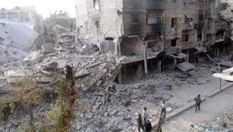 حمله تروریستی به منطقه ای در دمشق