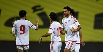 امارات با برد ویتنام صدرنشین صعود کرد