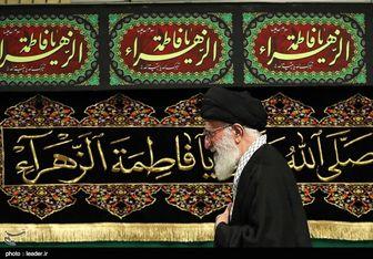 برگزاری آخرین شب مراسم عزاداری حضرت فاطمهزهرا(س) با حضور رهبر معظم انقلاب اسلامی
