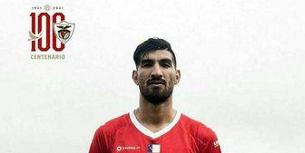 برد سانتاکلارا در حضور مغانلو در لیگ فوتبال پرتغال