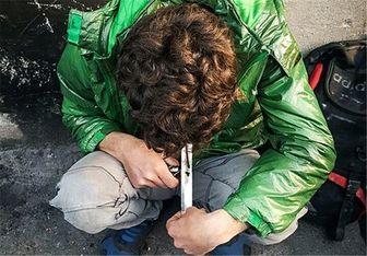 معتادانِ «تهخطی» وبال گردن اهالی «لبخط»+عکس