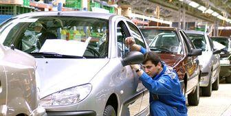 لایی کشی قیمت خودرو در پی کاهش تولید خودروسازان