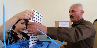 اعلام نتایج اولیه و غیررسمی انتخابات پارلمانی منطقه کردستان عراق