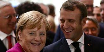 متحد مرکل خواستار کنار گذاشتن اختلافات شدید آلمان و فرانسه شد