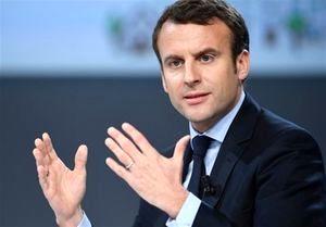 دیدار ولیعهد ابوظبی با رئیسجمهور فرانسه