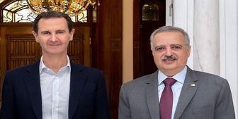 دیدار  رئیس حزب دموکراتیک لبنان با بشار اسد