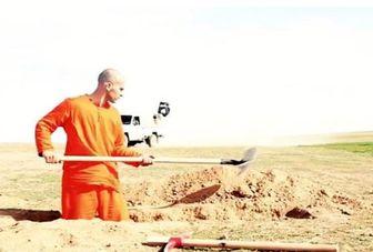 بریدن سر اسیر سوری توسط داعش / فیلم