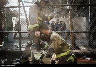 تایید شهادت ۲۰ آتشنشان در حادثه پلاسکو