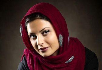 حال خوش سولماز غنی در پشت صحنه ملکه گدایان /عکس