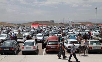 افزایش ۱ تا ۲ میلیون تومانی قیمتها در بازار خودرو در 9 دی 97