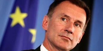 جرمی هانت از وزارت خارجه انگلیس رفت