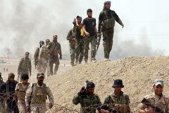 عملیات امنیتی گسترده حشد شعبی در استان الانبار