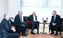 دیدار ظریف با وزیر تجارت خارجی بوسنی