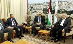 رفت و آمد هیئت های مصری به غزه