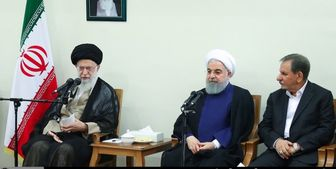 نظر روحانی درباره کاهش تعهدات برجامی در دیدار با رهبر انقلاب