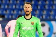 آرسنال به دنبال جذب دروازهبان بارسلونا