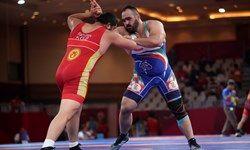 مدال طلای ایران در کشتی فرنگی جوانان قهرمانی جهان