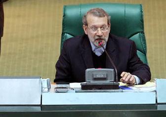لاریجانی نماینده دولت را از صحن علنی اخراج کرد