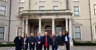 هیئت فلسطینی و رژیم صهیونیستی در ایرلند مذاکره کردند