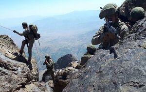هلیبرن نیروهای ترکیه در شمال عراق