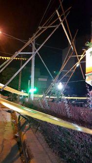 وقوع 4 حادثه بر اثر وزش شدید باد در مشهد