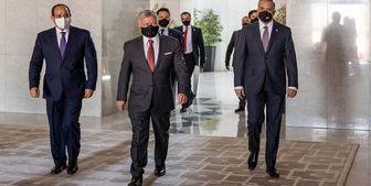 بیانیه رهبران مصر، عراق و اردن درباره فلسطین
