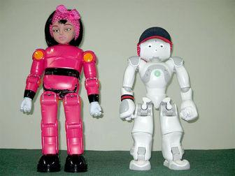 ربات های مینا ونیما در خدمت بیماران اوتیسم