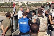 بازدید هیئت رسانهای روسی و اروپایی از خان شیخون