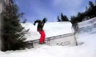 اسکیبازی به شیوهای متفاوت + فیلم