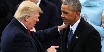 انتقاد اوباما از عملکرد ترامپ