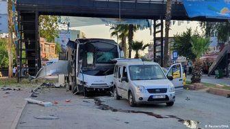 انفجار یک بمب در جنوب ترکیه ۵ زخمی برجای گذاشت