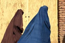 تجمع زنان افغانستان در  حمایت از طالبان