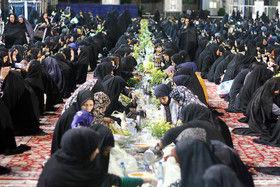 برگزاری افطاری خیابانی در تهران