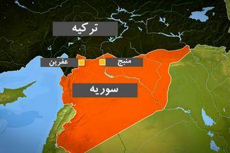 گزارش ارتش ترکیه از عملیات شاخه زیتون در سوریه
