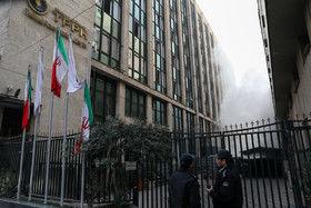 آتش سوزی در ساختمان برق حرارتی وزارت نیرو