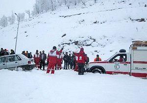 امداد رسانی به 2918 نفر در برف و کولاک