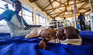 بحران گرسنگی در سودان جنوبی + عکس