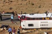 اعلام نتیجه کارشناسی علت حادثه اتوبوس خبرنگاران تا ۴۸ ساعت آینده