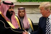 ترامپ با بن سلمان گفت و گو کرد