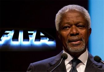 کوفی عنان گزینهای برای ریاست فیفا