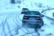انسداد ۹ جاده به دلیل بارش برف و سیلاب