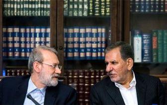لاریجانی: جهانگیری کاندیدا شود من نمیآیم