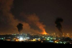 اصابت راکت شلیک شده از غزه به یک شهرک صهیونیستنشین